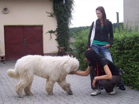 p. Štětková s dcerou a Darinkou