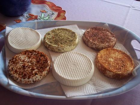 Kozí sýr od našich kozenek je naprosto skvělý :)