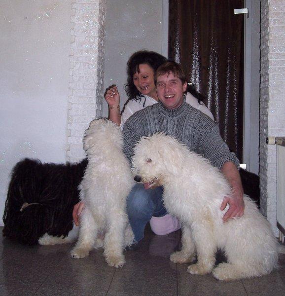 Cosima a Carmella Király Puszta, paní Bärbel Kloss s Láďou