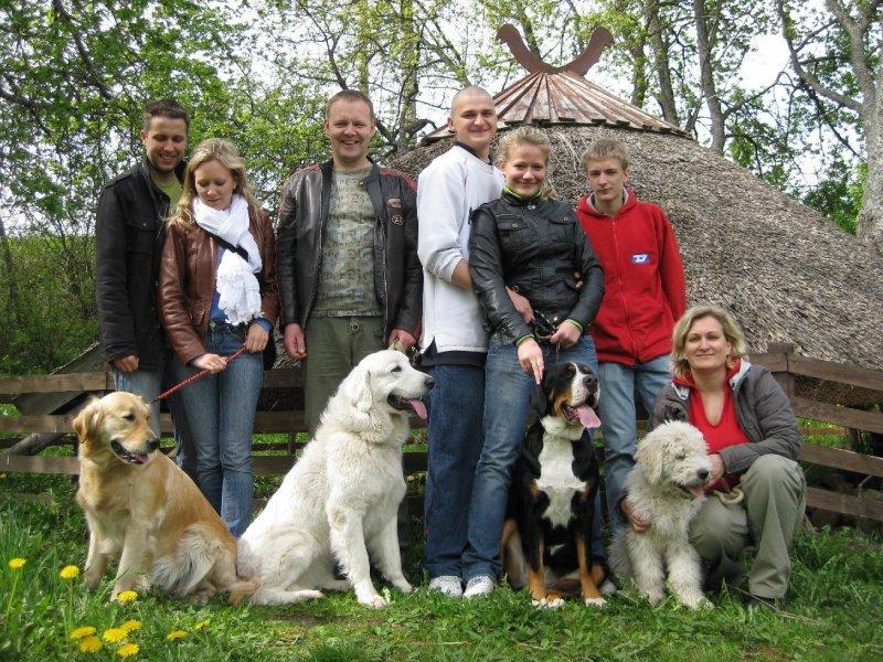 rodina a psi s kterými já, Bogi, bydlím