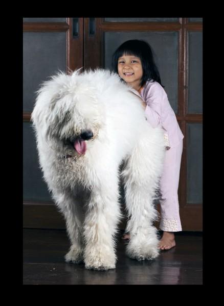 Felicita s Trully, jednou z dětí Brendy a Mela